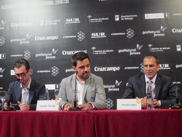 Presentación ce Callback en el Festival de Cine de Málaga