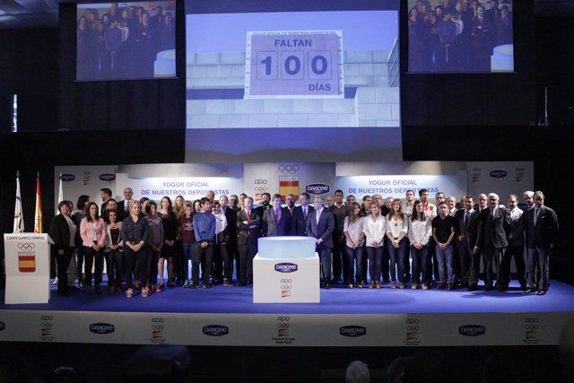 Contador en el COE de 100 días para los Juegos de Río