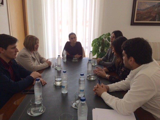Reunión en Talayuela de Rosario Cordero