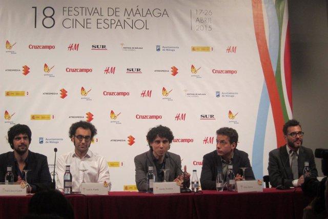 """Jonás Trueba con """"Los exiliados románticos"""" en el Festival de Cine de Málaga."""