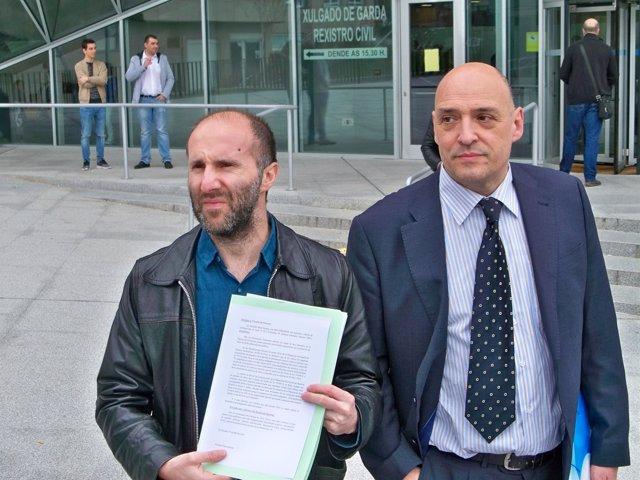 Democracia Ourensana presenta la denuncia contra la Diputación de la Fiscalía