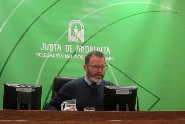 El delegado de Fomento y Vivienda en Jaén, Rafael Valdivielso.