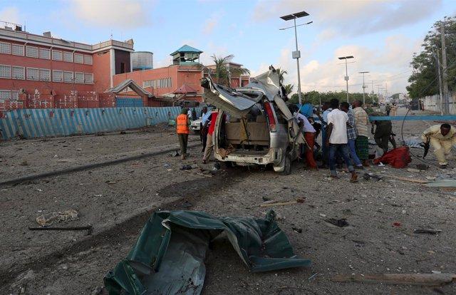 Atentado en hotel de Mogadiscio, en Somalia