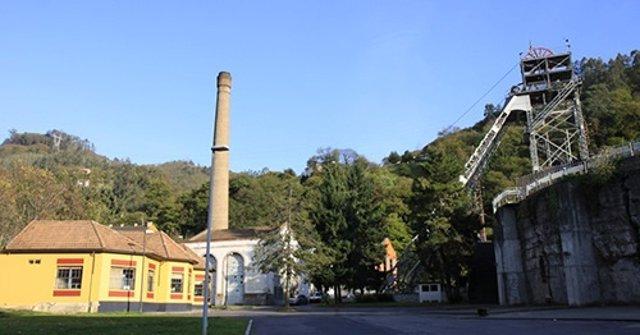 Uno de los centros de la Fundación Barredo, en el Pozo Barredo ( Mieres).