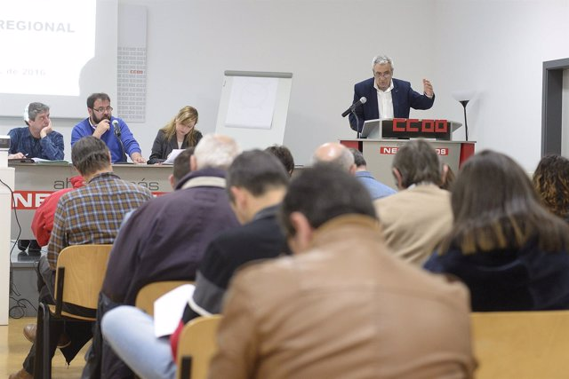 Carlos Sánchez interviene ante el Consejo Regional