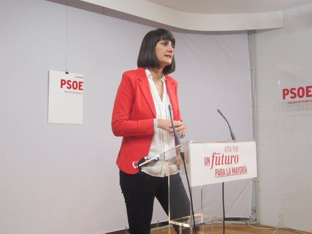 La diputada nacional por Murcia María González Veracruz