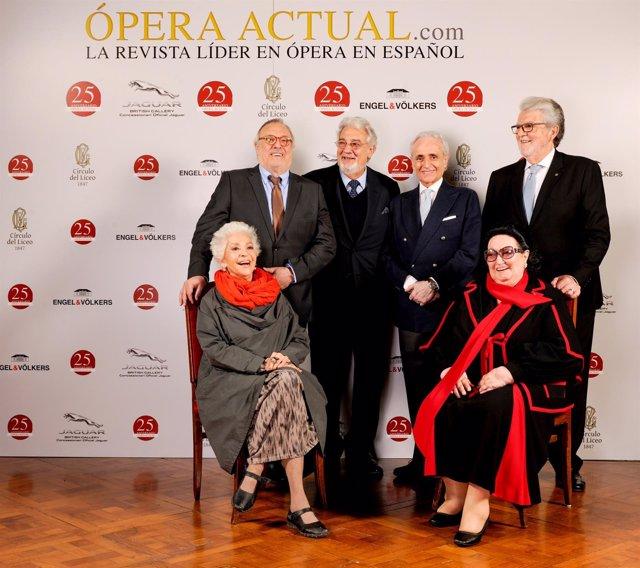 Ópera Actual celebra sus 25 años en el Cercle del Liceu