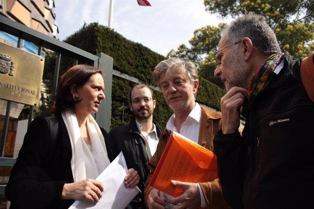 Santisteve, Arrojo y Bescansa ante el TC para recurrir el ICA