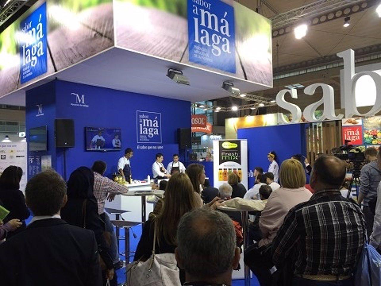 Sabor a Málaga en Alimentaria 2016