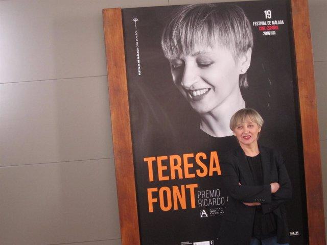 Teresa Font en el Festival de Cine de Málaga