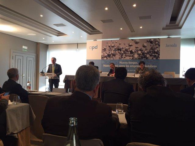 Vidal de la Peña en la jornada de ADP sobre retos para las empresas