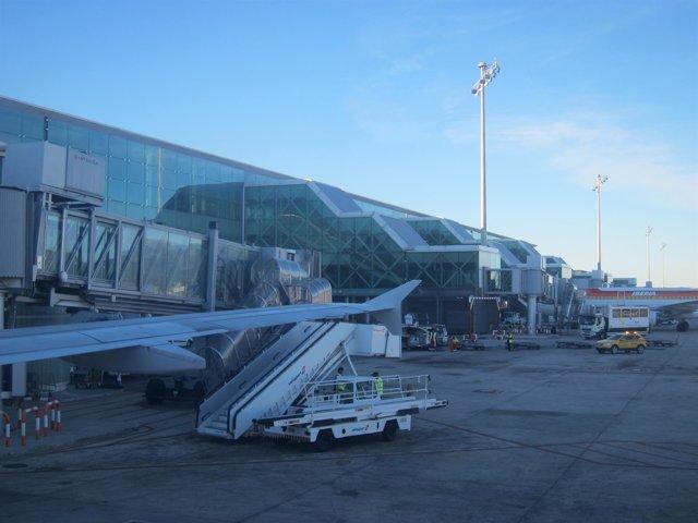 T1 del Aeropuerto de Barcelona El Prat
