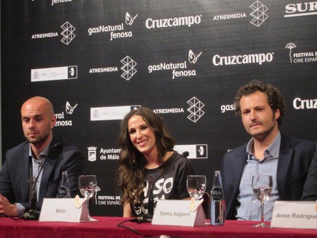 Malú presenta en el Festival de Cine de Málaga 'Ni un paso atrás',