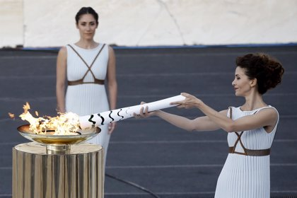 Brasil recibe la antorcha olímpica para los Juegos de Río