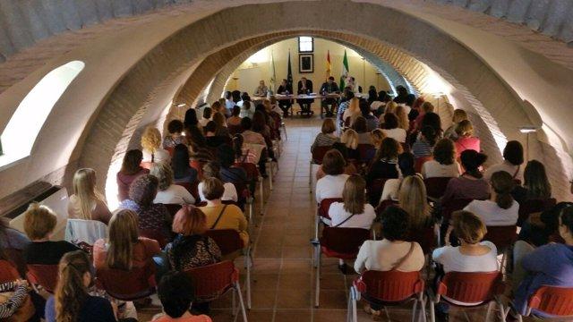 Mesa de Diálogo por el Empleo Social en Mairena del Aljarafe