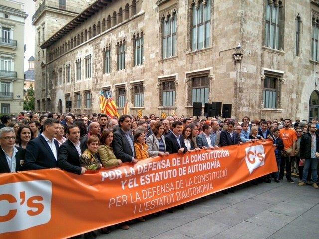 """C´s reivindica en Valencia una España """"diversa y unida"""""""
