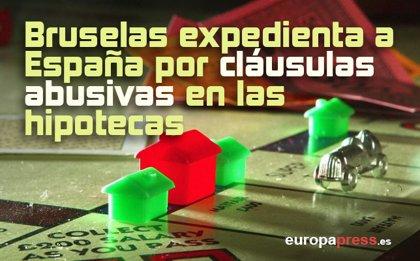 Bruselas expedienta a España por cláusulas abusivas en las hipotecas