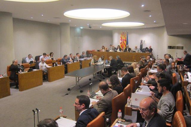 Pleno de abril de la Diputación de Barcelona