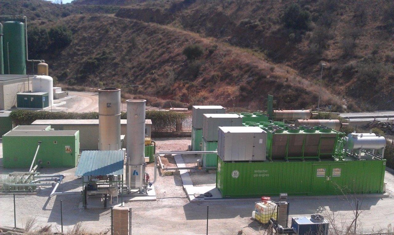 Planta de desgasificación y cogeneración de Los Ruices