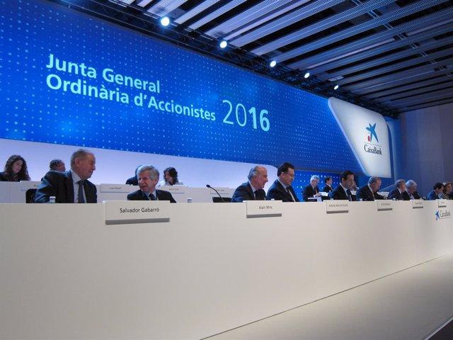 Junta de accionistas de CaixaBank 2016