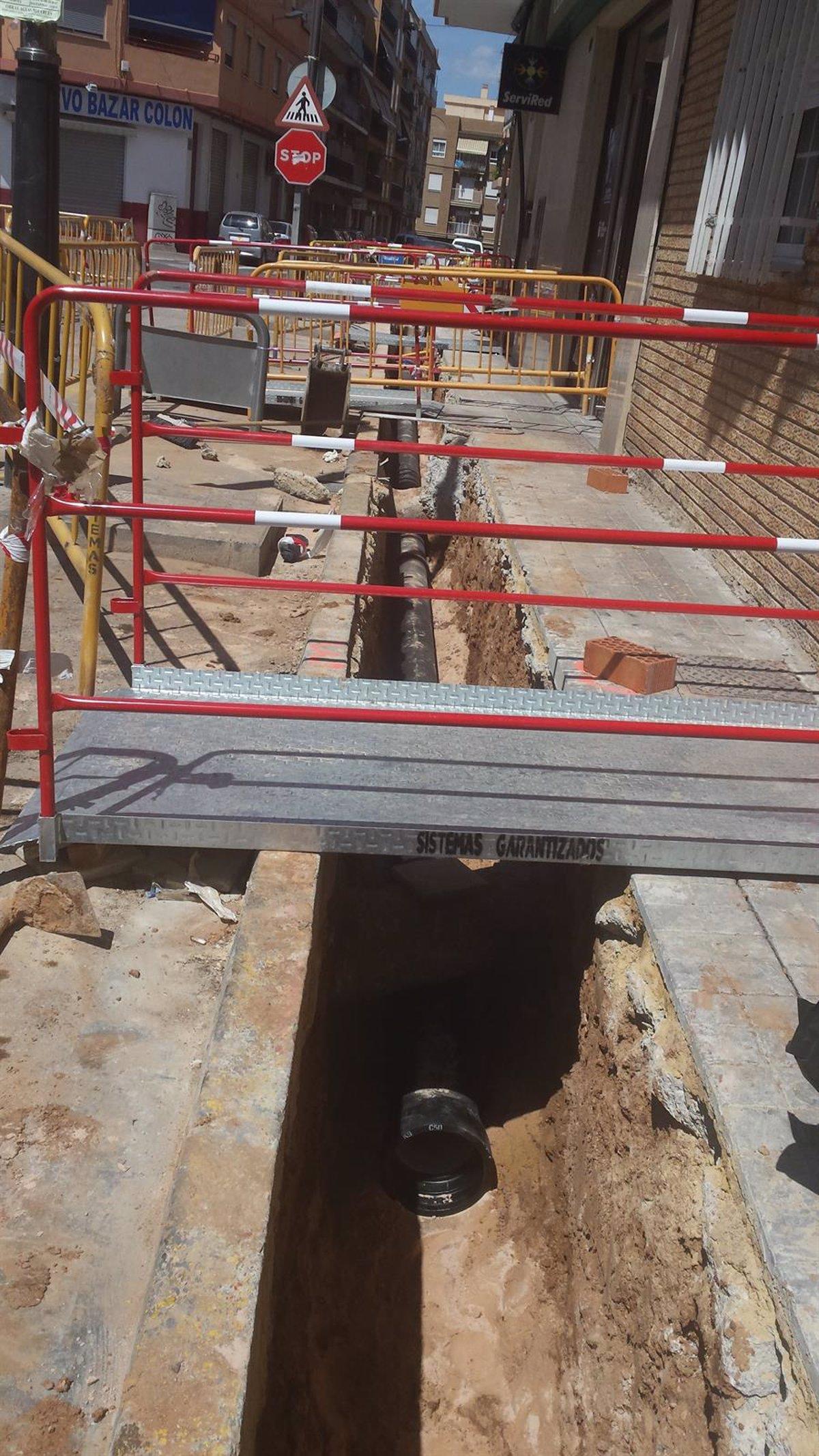 Aigües de l\'Horta ejecuta obras para mejorar el suministro de agua en  Torrent