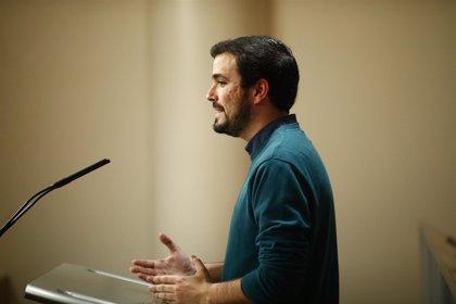 """IU llama a participar en el 1 de mayo para salir de la crisis con """"trabajo digno"""""""