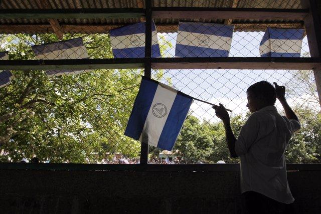 Nicaragua banderas