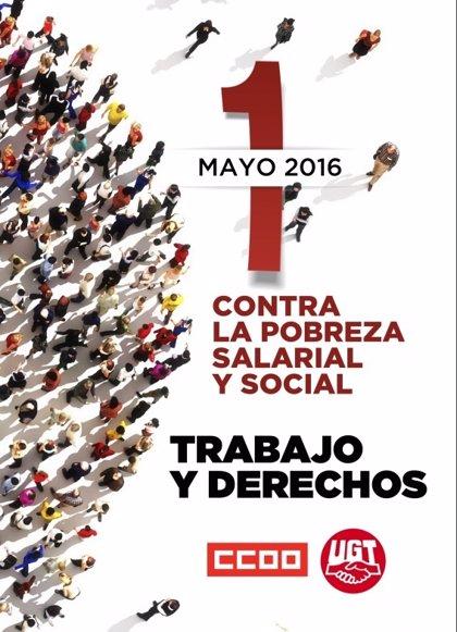 CC.OO. y UGT celebran mañana más de 76 manifestaciones en toda España