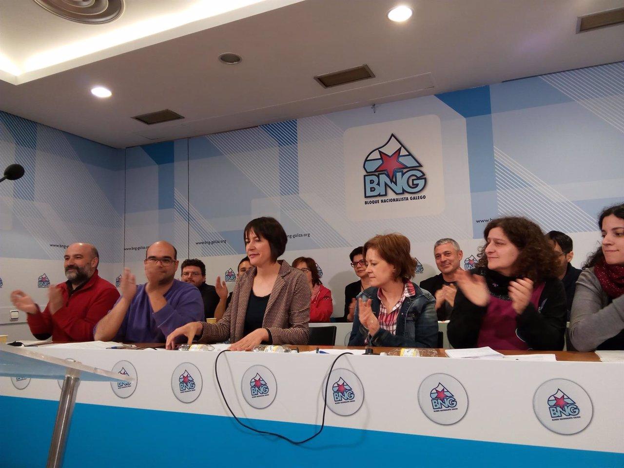 Ana Pontón, candidata del BNG a la Xunta