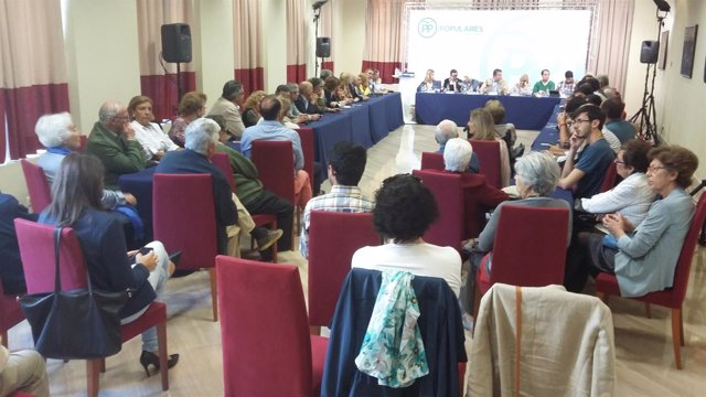 Reunión de la Junta Directiva del PP de Cádiz