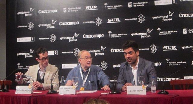 Martín Bacigalupo y Carles Torras, 'Callback', Festival de Cine de Málaga