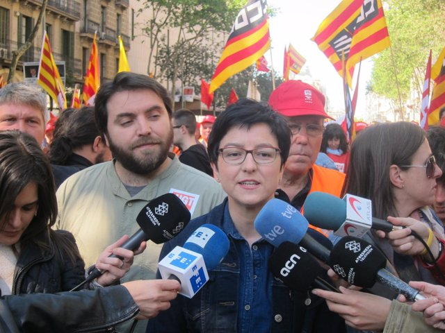 La diputada del PSC en el Parlament Eva Granados