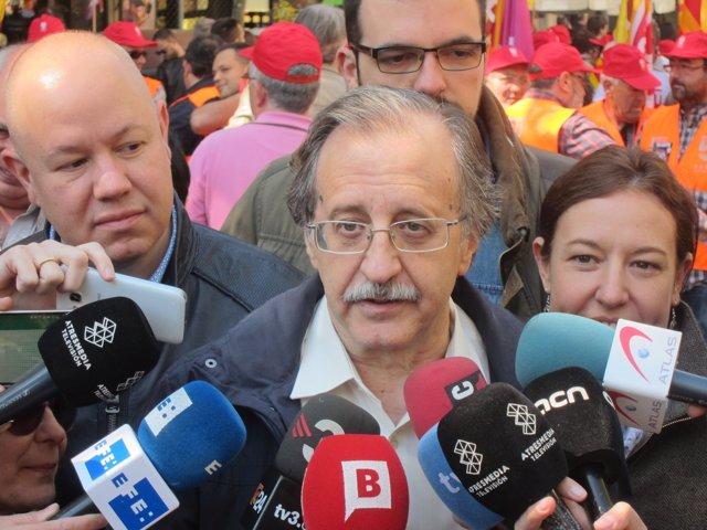 El diputado de C's en el Parlament Antonio Espinosa