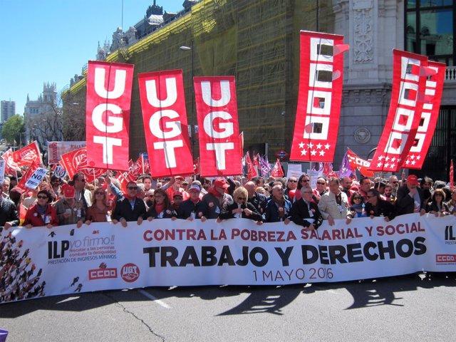 Manifestación 1 de mayo 2016