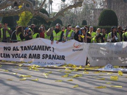 La Audiencia de Barcelona absuelve a la cúpula de Spanair