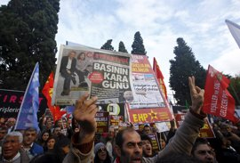 La libertad de prensa, en peligro por leyes antiterroristas y políticas de seguridad