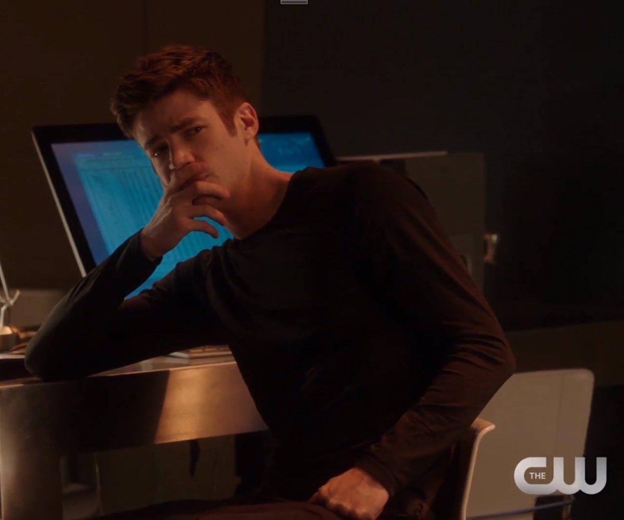 Grant Gustin es The Flash