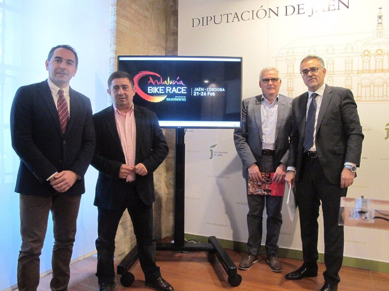 Presentación del estudio de impacto de la VI Andalucía Bike Race.