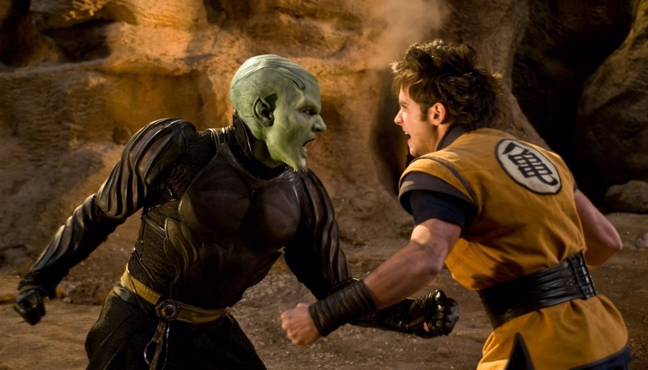 Goku y Piccolo en Dragon Ball Evolution