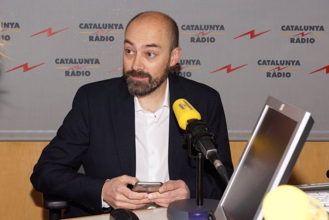 Saül Gordillo, director de Catalunya Ràdio