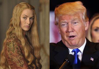 Cersei Lannister manda callar a Donald Trump en Twitter
