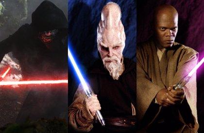 Star Wars: Los 10 mejores sables láser de la saga