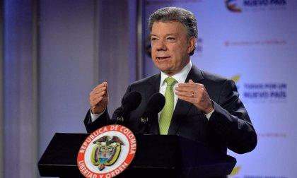 """Santos confía en que el ELN """"entre en razón"""" y libere a los secuestrados"""