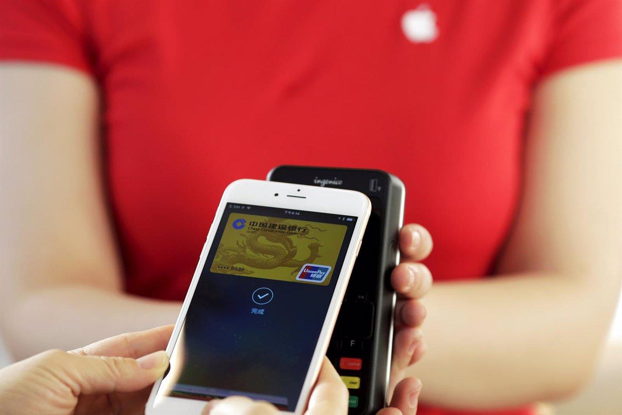 Banca digital. Pago con móvil