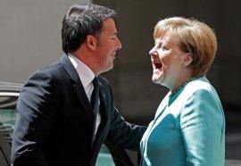 Renzi y Merkel rechazan los planes de Austria de construir una valla fronteriza