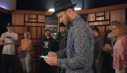 Justin Timberlake estrena Can't stop the feeling!, canción principal de la película Trolls