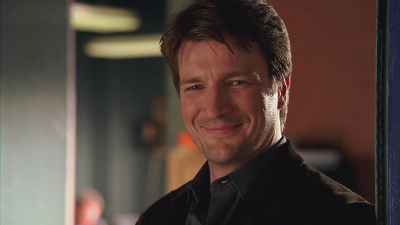 Nathan Fillion es Richard Castle en 'Castle'