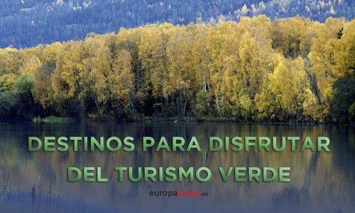 Destinos turismo verde