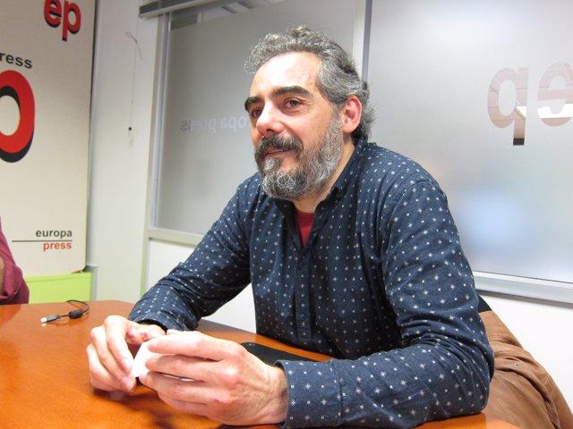 El diputado de EnComúPodem Raimundo Viejo