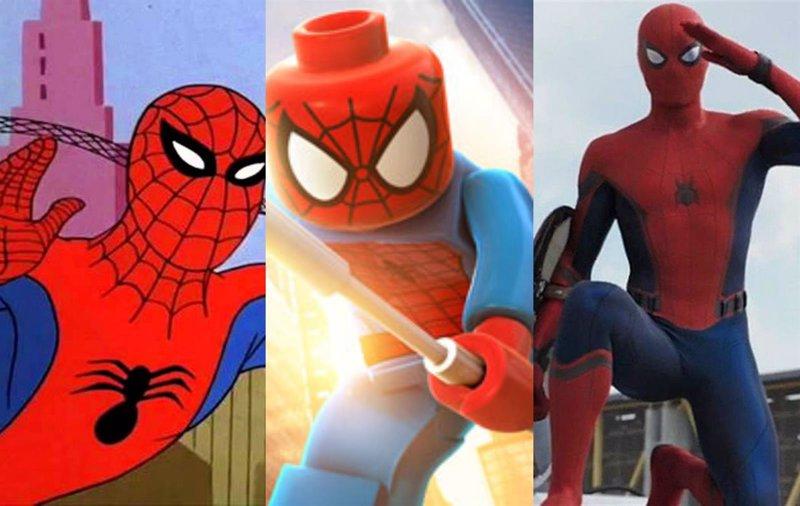 VÍDEO: Así ha cambiado Spiderman en cine y televisión